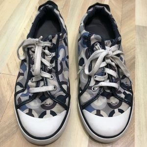 Coach Barrett Canvas Lowtop Sneakers